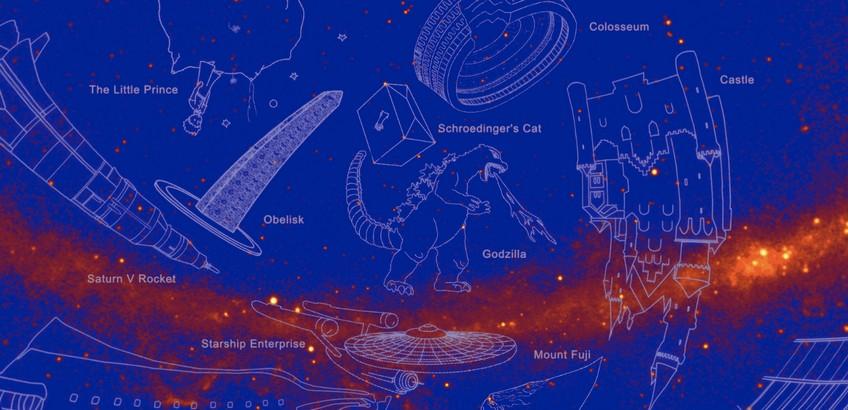 Gamma-Ray Constellation