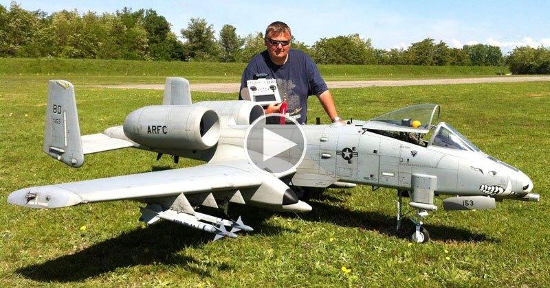 Remote Controlled A-10 Warthog