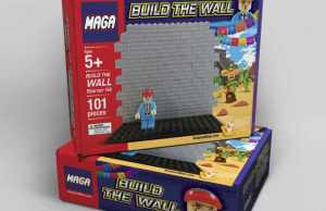 Build the wall Lego Set