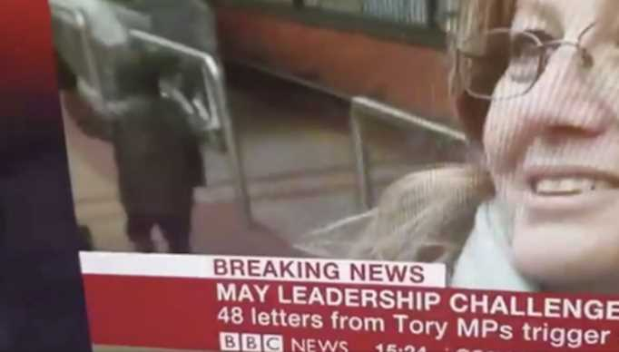 Child Seemed to Teleport During BBC Interview