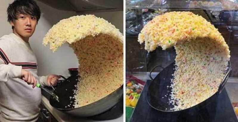 fake photo rice