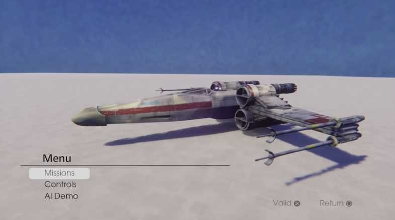 Star Wars X-Wing Game