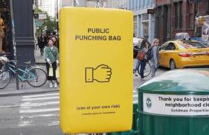 punching bag manhattan