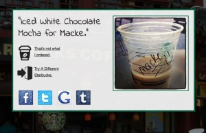 A Name Generator That Shows the Experience of Having Your Name Wrong on a Starbucks Cup