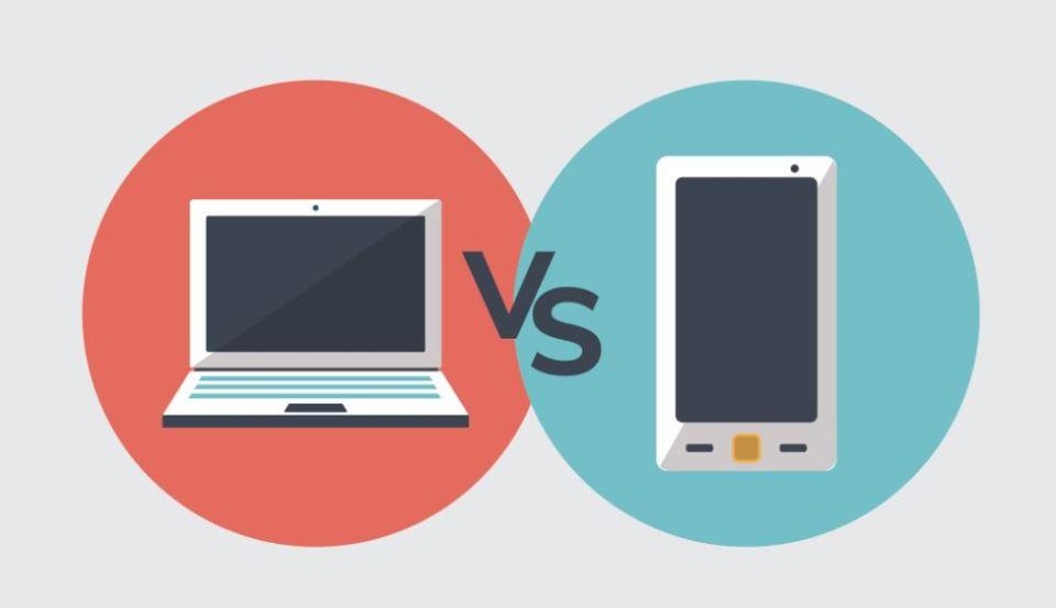 Mobile Vs Desktop Computers