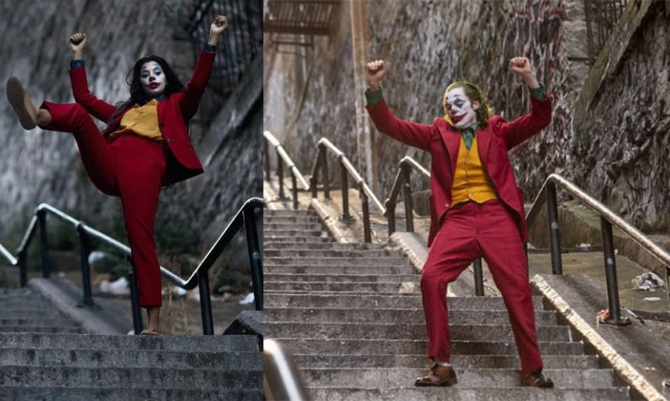 'The Joker' Stairs In New York
