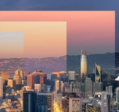 San Francisco Sunset Photo