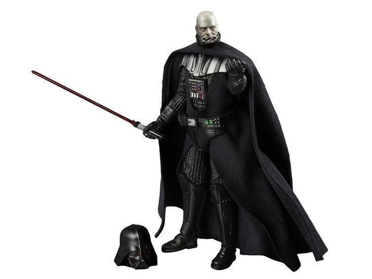 Darth Vader with Removable Helmet