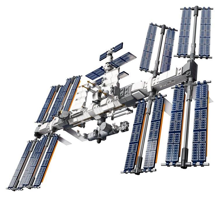 International Space Station Lego