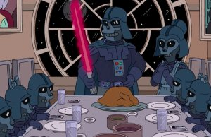 STAR WARS Supercut From THE SIMPSONS