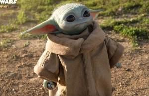 Baby Yoda Figure
