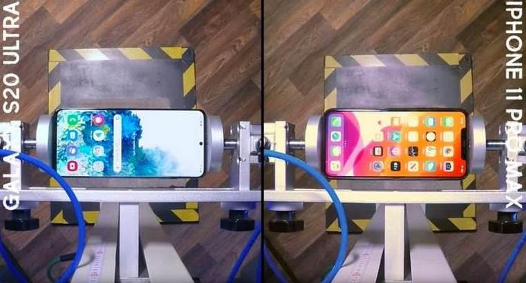 iPhone 11 Pro Max Vs Samsung Galaxy S20 Ultra