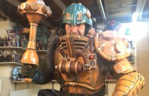 MASTERS OF THE UNIVERSE Man at Arms Cosplay