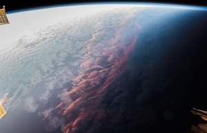 Sunset Looks Like From Space
