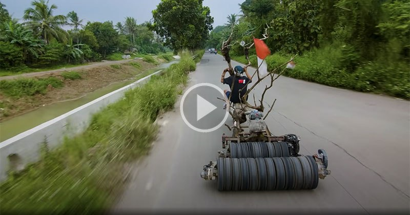 The 'Mad Max' Vespa's of Indonesia