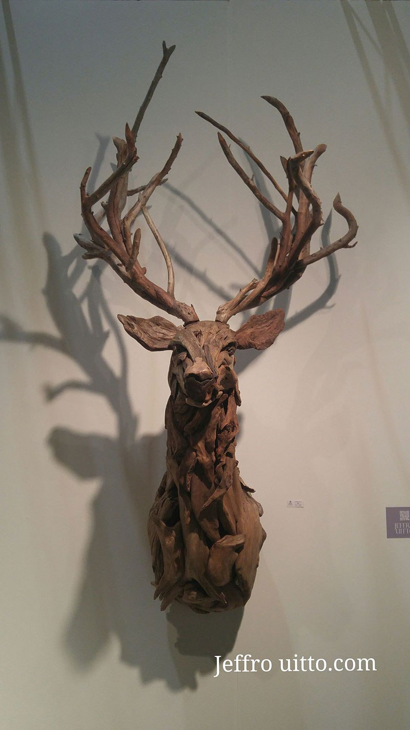 Most Amazing Driftwood Animal Sculptures