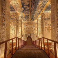 Virtual Tour of Tomb of Ramesses VI in the Valley of Kings