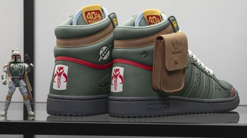 Adidas x Lucasfilm Boba Fett STAR WARS Inspired Sneakers