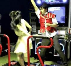 Couple Shows Off Some Sick Arcade Dance Moves