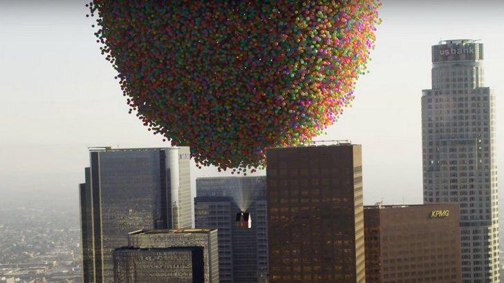 Flying Balloon House