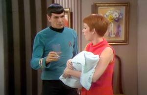 Leonard Nimoy as Spock Makes Cameo