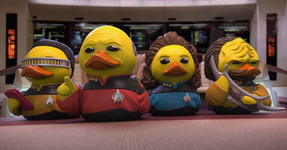 TUBBZ New STAR TREK Ducks