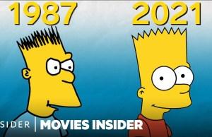 The Simpsons Evolution
