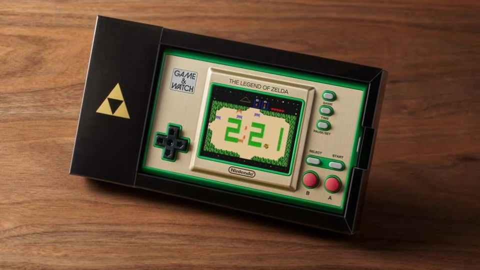 Zelda 35th Anniversary Game & Watch