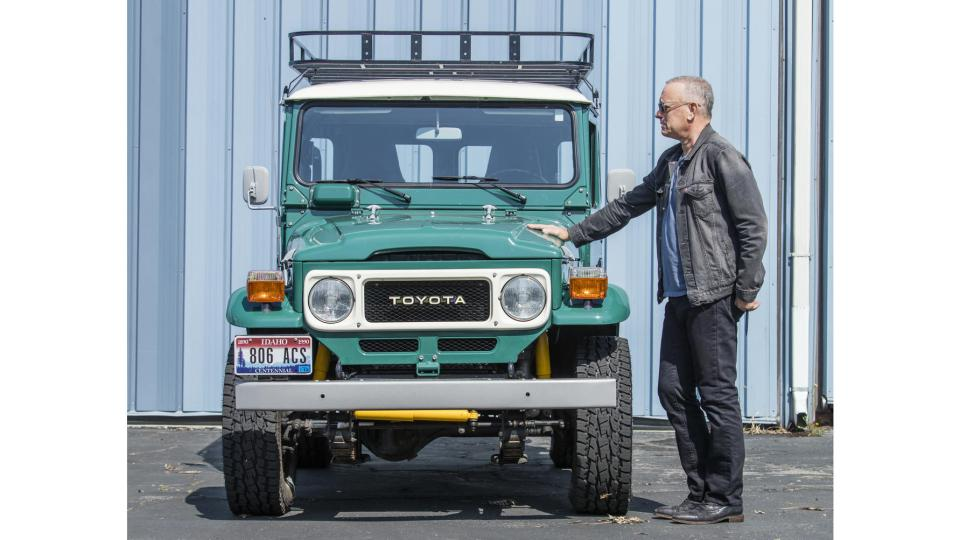 Tom Hanks Stunning Toyota FJ40