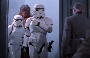 Unscripted Moments From The STAR WARS