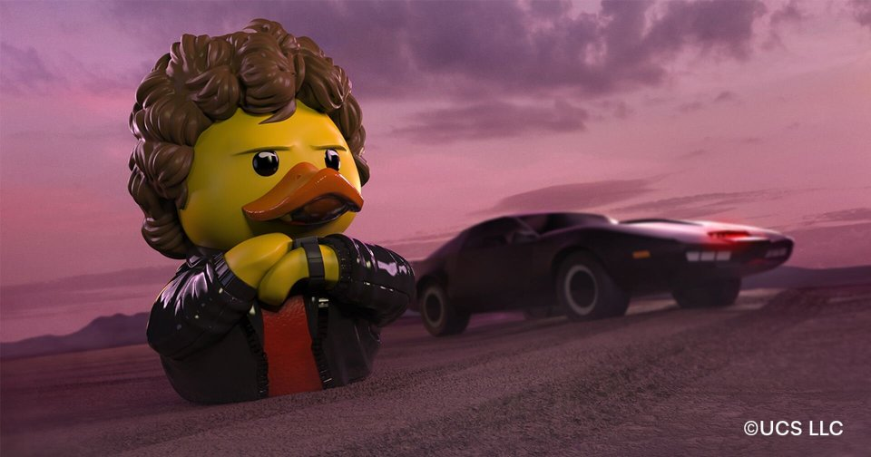 KNIGHT RIDER Rubber Duck from TUBBZ