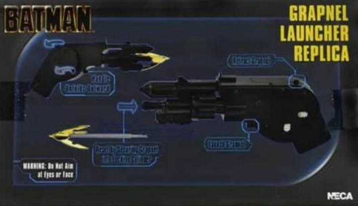 BATMAN Grapnel Launcher Replica Toy!
