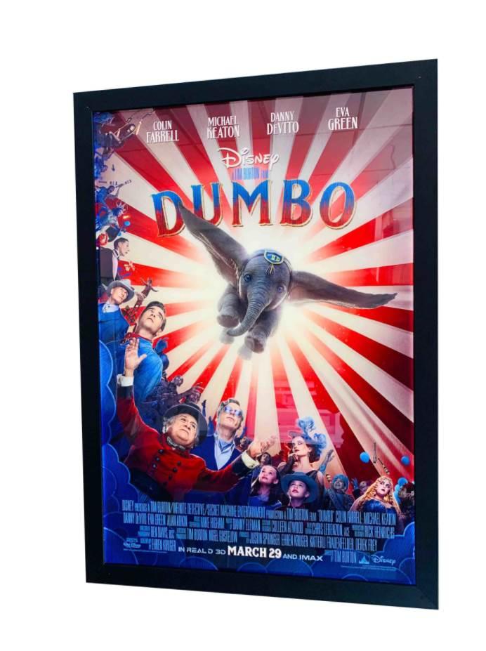 movie poster in frame