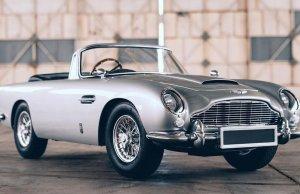 James Bond-Inspired Aston Martin For Kids