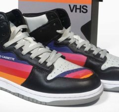 VHS-Style Sneakers