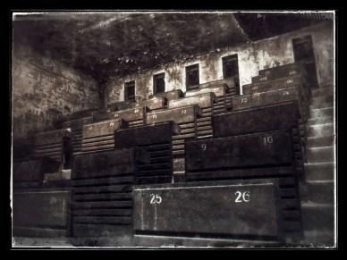 Old school grandstand