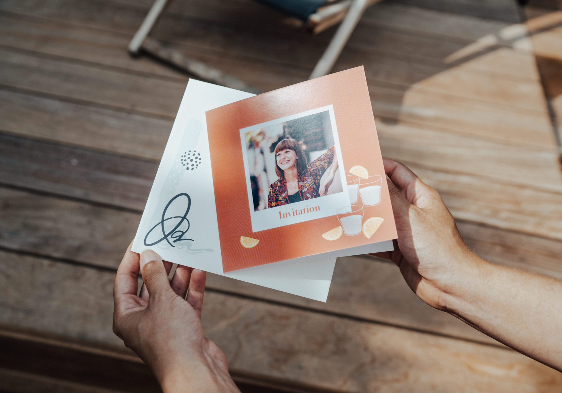 18th Birthday Invitation Personalised With Your Photos Fizzer