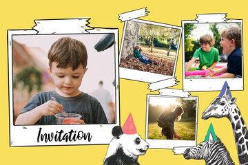 invitation anniversaire enfant fizzer
