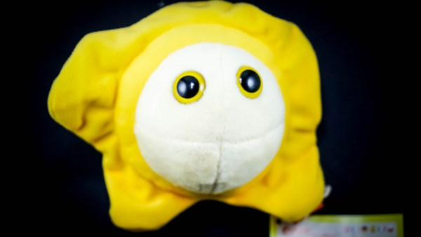 Giant Herpes Plush Toy