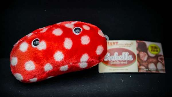 Giant Rubella Plush Toy