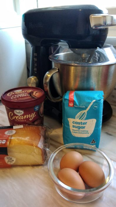 Baked Alaska ingredients