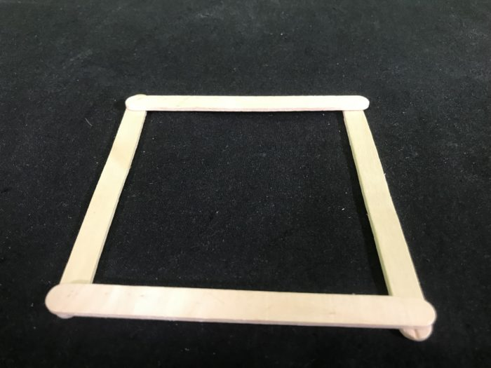 reate a rubber band racer science experiment - square formed
