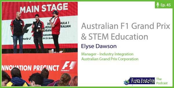 Podcast: Australian F1 Grand Prix & STEM