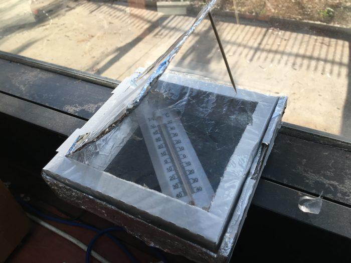 Pizza box solar oven science experiment | Fizzics Education
