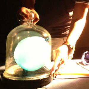 An experiment using a bell jar