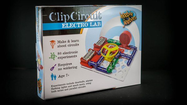 Clip Circuit Electro Lab (80 experiments)