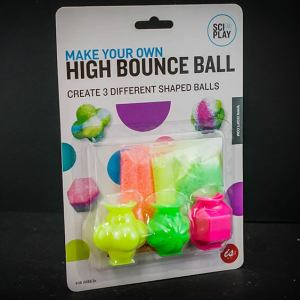 High Bounce Ball Science Toy