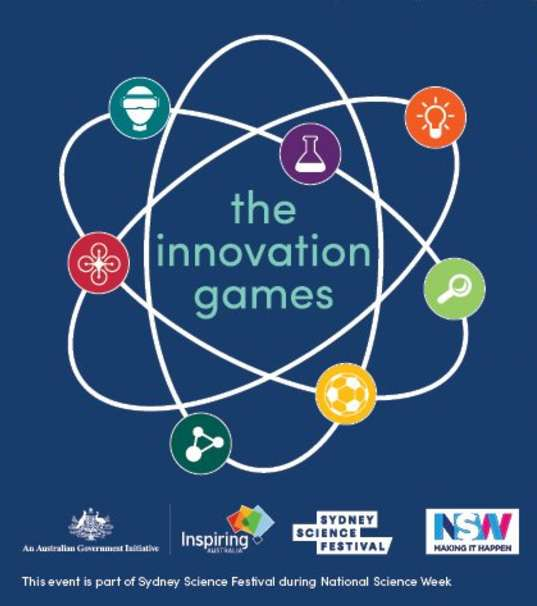 Innovation games logo with principal supporters