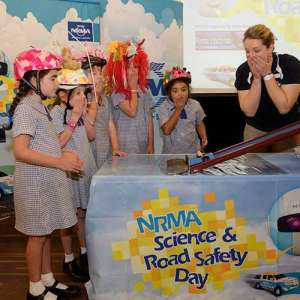 NRMA road safety science show with Fizzics Education