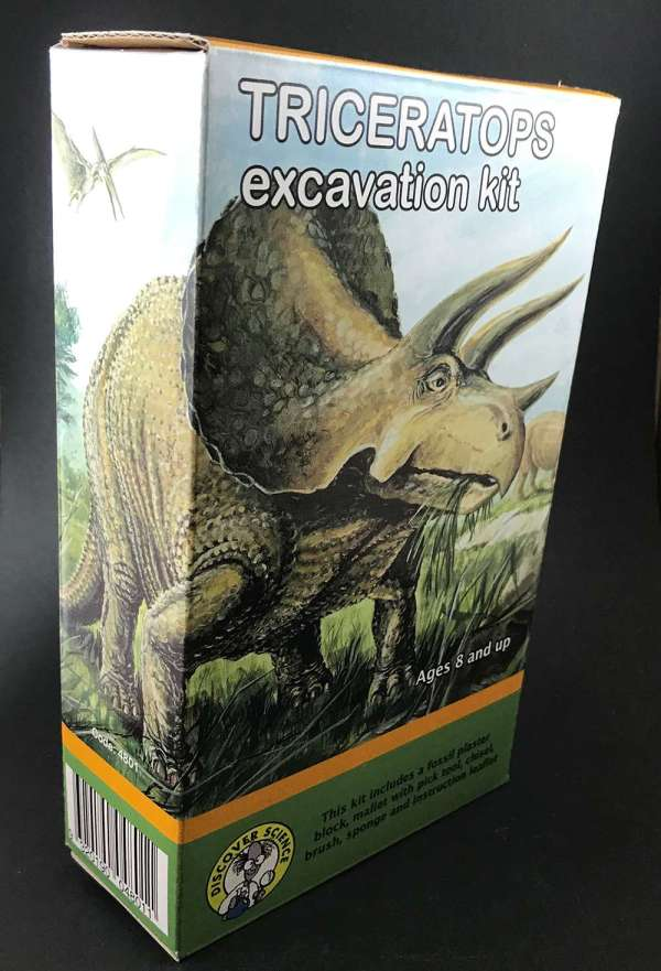 Triceratops Dinosaur Excavation Kit